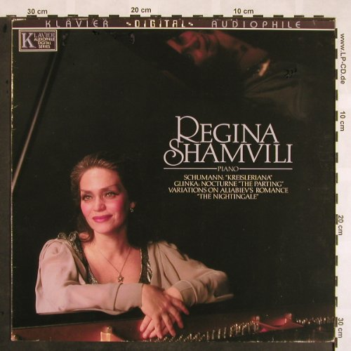 Shamvili,Regina: plays Schumann and Glinka, m /vg+, Klavier Records(KD 7029), US, 1984 - LP - L5280 - 7,50 Euro