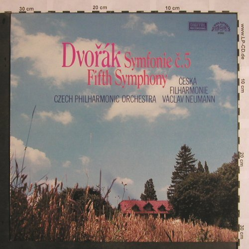 Dvorak,Antonin: Symphony No.5 in F Major, op.76, Supraphon(1110 3407 ZA), CZ, 1984 - LP - L5305 - 7,50 Euro