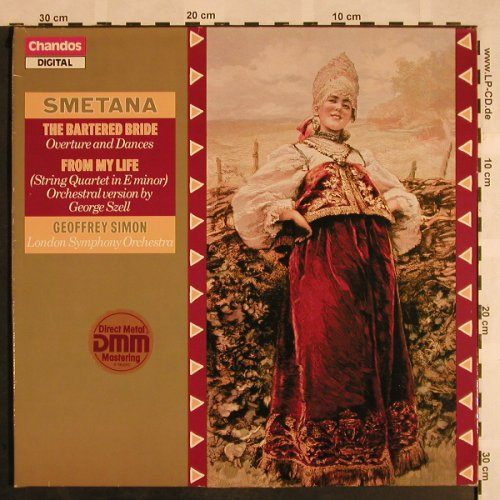 Smetana,Bedrich: The Bartered Bride, Overt.&Dances, Chandos(ABRD 1149), UK, 1986 - LP - L5309 - 6,00 Euro