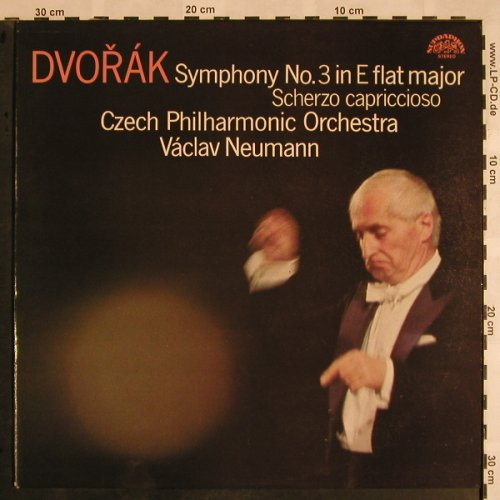 Dvorak,Antonin: Symphony No.3 in E flat major,op10, Supraphon(1110 3573 ZA), CZ, 1984 - LP - L5317 - 7,50 Euro