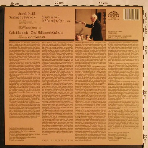 Dvorak,Antonin: Symphony No.2 in B flat major, op.4, Supraphon(10 4134-1), CZ, 1987 - LP - L5318 - 7,50 Euro
