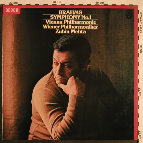 Brahms,Johannes: Symphony No.1 in C minor op.68, Decca(SXL 679 6), UK, 1979 - LP - L5336 - 7,50 Euro