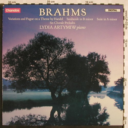 Brahms,Johannes: Variations&Fugue on a Theme Handel, Chandos(ABRD 1147), UK, 1986 - LP - L5353 - 9,00 Euro