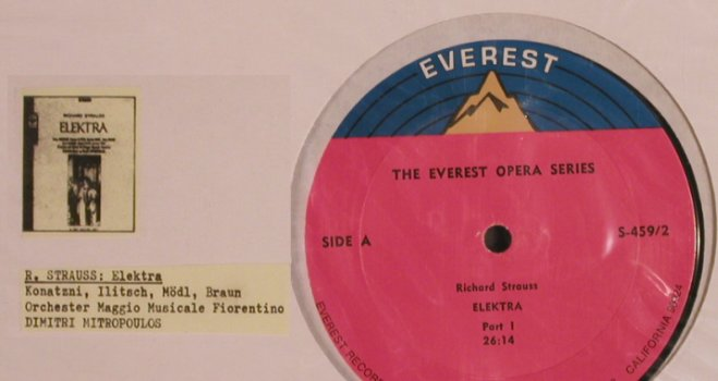 Strauss,Richard: Elektra Part I & IV, FS-New, Everest(S-459/2), US,  - LP - L5371 - 5,00 Euro