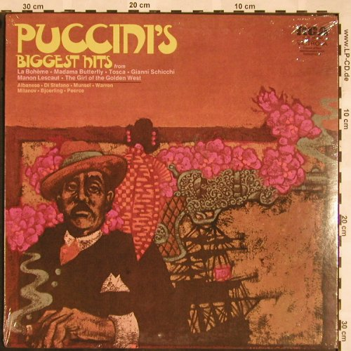 Puccini,Giacomo: Biggest Hits, FS-New, RCA Promo(VICS-1672), US,  - LP - L5375 - 9,00 Euro