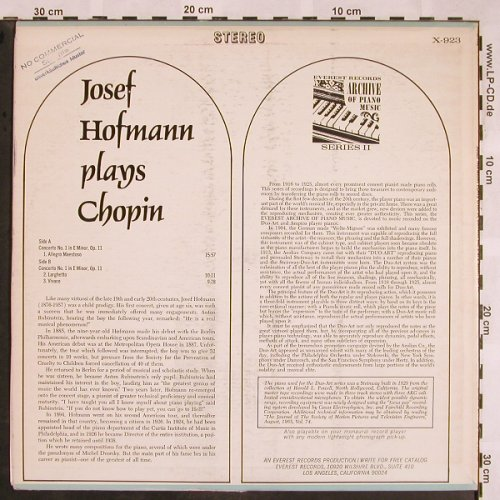 Chopin,Frederic: Concerto No.1,op11,Muster-Stol/Stoc, Everest Records(X-923), US,  - LP - L5419 - 7,50 Euro