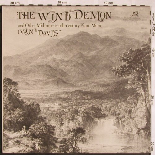 Davis,Ivan: The Wind Demon and other Mid 19th.., New World Records(NW 257), US, Foc, 1976 - LP - L5458 - 7,50 Euro