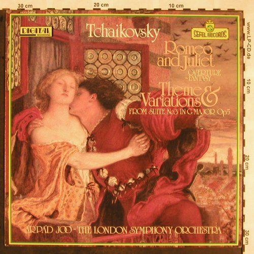 Tschaikowsky,Peter: Rome and Julia/ Theme&Variations, Sefel Records(SEFD 5003), UK, 1980 - LP - L5475 - 6,00 Euro