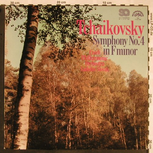 Tschaikowsky,Peter: Symphony No.4 in F minor, Supraphon(4 10 1749), CZ, 1975 - LPQ - L5479 - 6,00 Euro