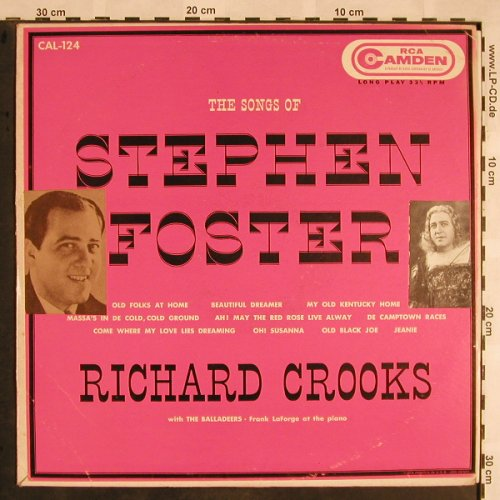 Foster,Stephen: The Songs of, Stoc, m-/vg+, RCA Camden(CAL-124), US,  - LP - L5506 - 6,00 Euro