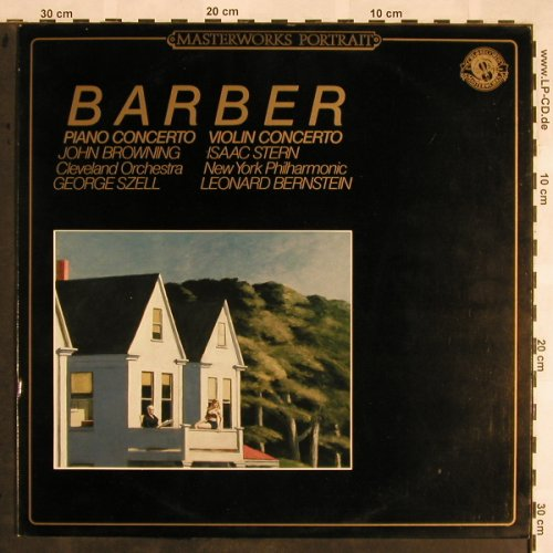 Barber,Samuel: Concerto for Piano/Violin&Orch., CBS(MP 39070), NL,  - LP - L5512 - 12,50 Euro