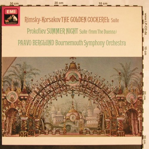 Rimsky-Korsakov,Nicolai: The Golden Cockerel/Summer Night, EMI(ASD 3141), UK, 1975 - LPQ - L5601 - 12,50 Euro
