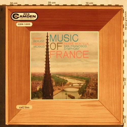 V.A.Music of France: Protée,Sarabande,Rákóczky, RCA Camden(CDN 1005), UK,Ri,  - LP - L5617 - 6,00 Euro