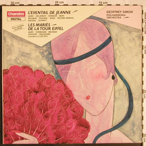 V.A.French Ballet Music of the 1920: L'Eventail de Jeanne,Les Maries..., Chandos(ABRD 1119), UK, stoc, 1984 - LP - L5618 - 7,50 Euro