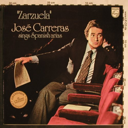 Carreras,Jose: Zarzuela-sings Spanish Arias, Philips(9500 649), NL, 1979 - LP - L5695 - 6,00 Euro