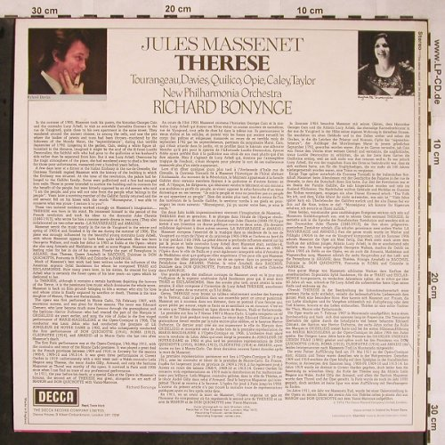 Massenet,Jules: Therese, Decca(SET 572), UK, 1974 - LP - L5778 - 6,00 Euro