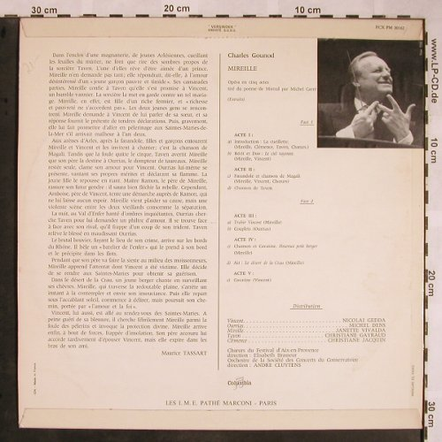 Gounod,Charles: Mireille, Columbia(FCX PM 30162), F, stoc,  - LP - L5796 - 6,00 Euro