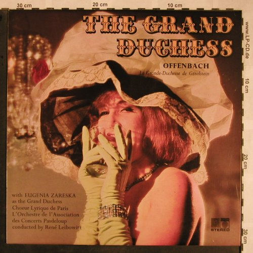 Offenbach,Jacques: The Grand Duchess, stoc, Saga(5446), UK,  - LP - L5807 - 5,00 Euro
