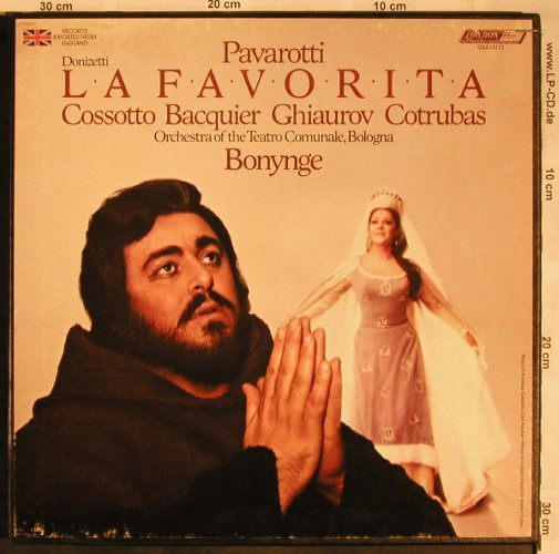 Donizetti,Gaetano: La Favorita,Box, London(OSA 13113), UK, co, 1978 - 3LP - L5824 - 12,50 Euro
