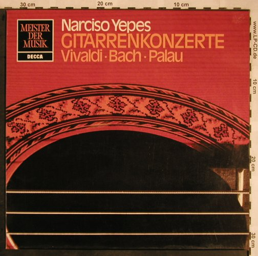 Yepes,Narciso: Gitarrenkonzerte, Decca(6.41967 AN), D, 1975 - LP - L5834 - 6,00 Euro