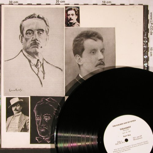 Puccini,Giacomo: Turandot-Excerpts, m-/Selfmade, Golden Age of Opera(EJS-50), ,  - LP - L5882 - 4,00 Euro