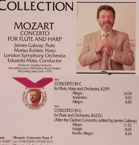 Galway,James: Mozart,Concerto f.Flute & Harp, RCA Gold Seal(GL 85442), D, co, 1985 - LP - L5888 - 5,00 Euro