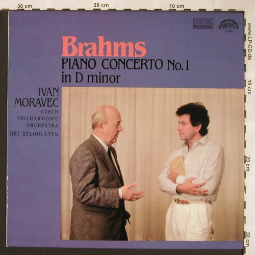 Brahms,Johannes: Piano Concerto No.1 in d minor, Supraphon(11 1273-1), CZ, 1990 - LP - L5916 - 7,50 Euro