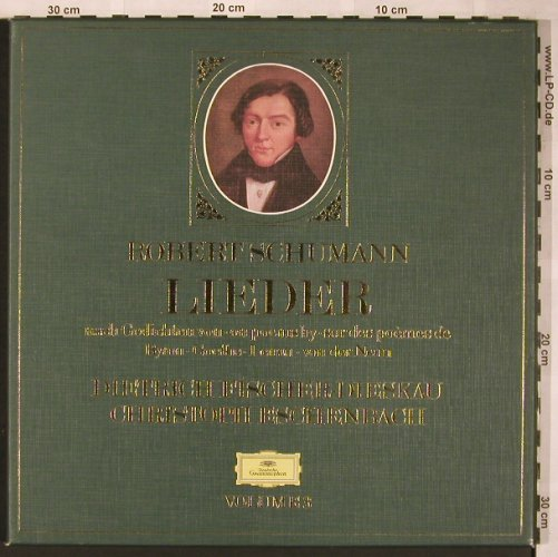 Schumann,Robert: Lieder Vol.3, Box, No Booklet, D.Gr.(2740 200), D,  - 3LP - L6071 - 9,00 Euro