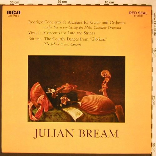 Bream,Julian: Concierto de Aranjuez f Guitar&Orch, RCA(26.41062 AS), D,  - LP - L6170 - 6,00 Euro