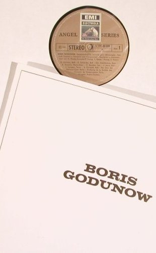 Mussorgsky,Modest: Boris Godunow, Booklet with Sticker, EMI(C 191-00009/12), D, Box,  - 4LP - L6358 - 15,00 Euro