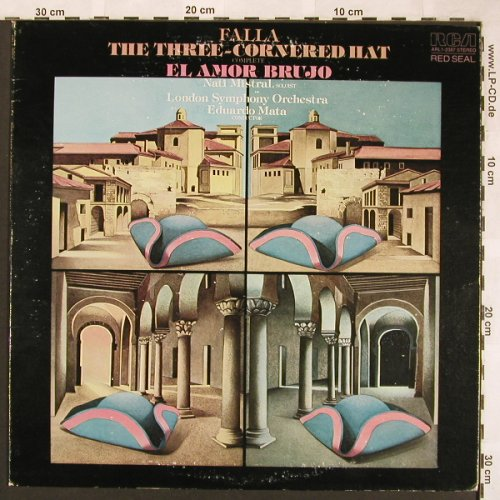 de Falla,Manuel: The Three-Cornered Hat,vg+/vg+, RCA,Promo-Stoc(ARL1-2387), US, 1978 - LP - L6360 - 5,00 Euro