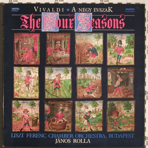 Vivaldi,Antonio: The Four Seasons, Hungaroton(SLPD 12841), H, 1987 - LP - L6379 - 6,00 Euro