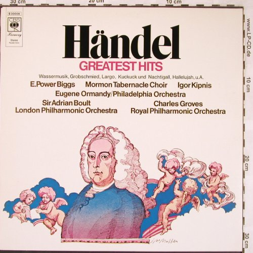 Händel,Georg Friedrich: Greatest Hits, CBS(S 30 009), NL, 1971 - LP - L6398 - 3,00 Euro