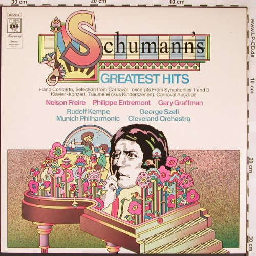 Schumann,Robert: Greatest Hits, CBS(S 30 048), NL, 1974 - LP - L6411 - 3,00 Euro