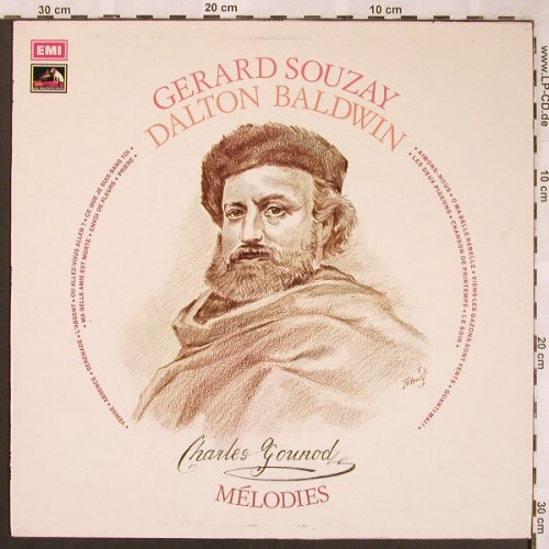 Gounod,Charles: Melodies, woc,stoc, His Masters Voice(ASD 3083), UK, 1974 - LP - L6439 - 5,00 Euro
