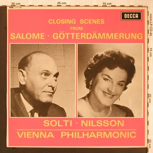 Strauss,Richard: Salome,Götterdämmerr.Closing scenes, Decca,Sample-Stol,stoc(LXT 6261), UK mono, 1966 - LP - L6520 - 6,00 Euro
