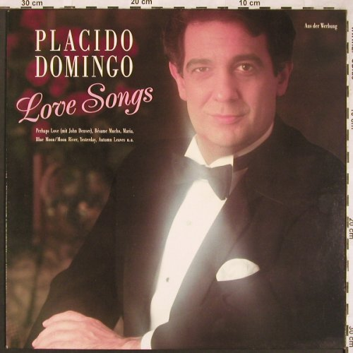 Domingo,Placido: Love Songs, CBS(FM 44701), NL, 1988 - LP - L6550 - 4,00 Euro