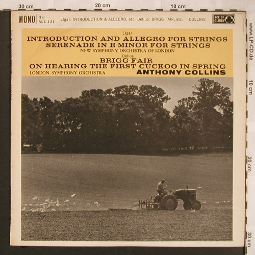 Elgar,Edward / Delius: Introduction & Allegro For Strings, Ace Of Clubs(ACL 131), UK, 1961 - LP - L6626 - 5,00 Euro