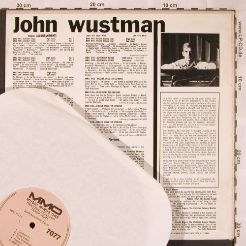 Wustman,John: Oratorio Arias for Tenor Voice, Music Minus One(MMO 7077), US,  - LP - L6727 - 7,50 Euro