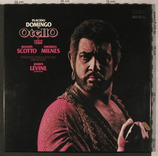 Verdi,Giuseppe: Othello, Box, RCA Red Seal(RL 02951), D, 1978 - 3LP - L6916 - 9,00 Euro