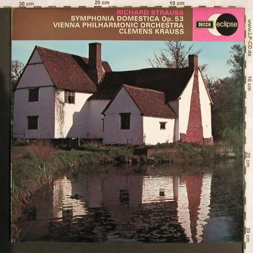 Strauss,Richard: Symphonia Domestica op.53, Decca Eclipse(ECS 606), UK, 1971 - LP - L7018 - 9,00 Euro