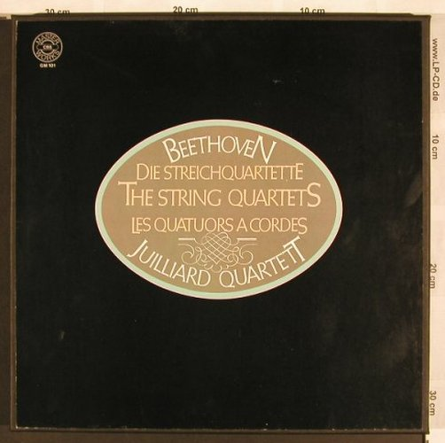 Beethoven,Ludwig van: Die Streichquartette,Box (like new), CBS(GM 101), D, 1978 - 10LP - L7021 - 90,00 Euro