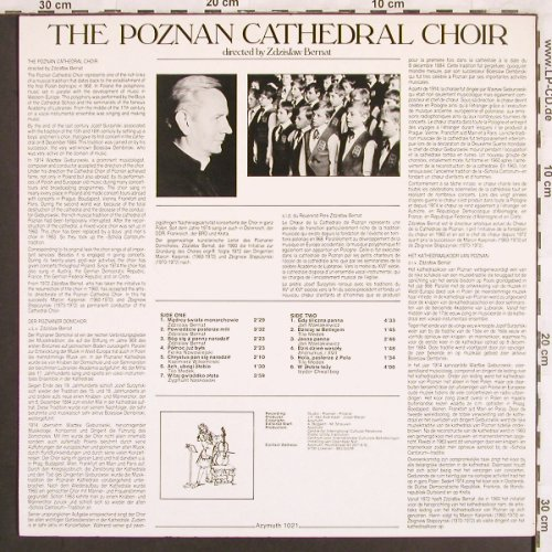 Poznan Cathedral Choir: Christmas-Carols-Zdzislaw Bernat, Azymuth(1021), B, 1985 - LP - L7117 - 6,00 Euro