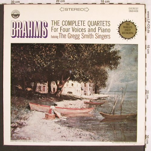 Brahms,Johannes: The Complete Quartets for 4 Voice&P, Everest Records(3249), US,  - LP - L7120 - 7,50 Euro
