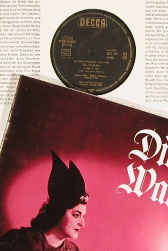Wagner,Richard: Die Walküre,Box, Decca(SET 312/16), D,  - 5LP - L7208 - 30,00 Euro