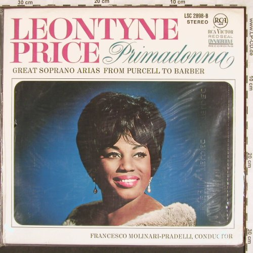 Price,Leontyne: Primadonna,Arias Purcell...Barber, RCA Red Seal(LSC-2898-B), D, FS-New,  - LP - L7219 - 12,50 Euro
