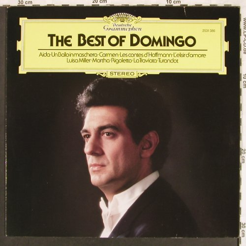 Domingo,Placido: The Best Of, Deutsche Gramophon(2531 386), D, 1982 - LP - L7246 - 6,00 Euro