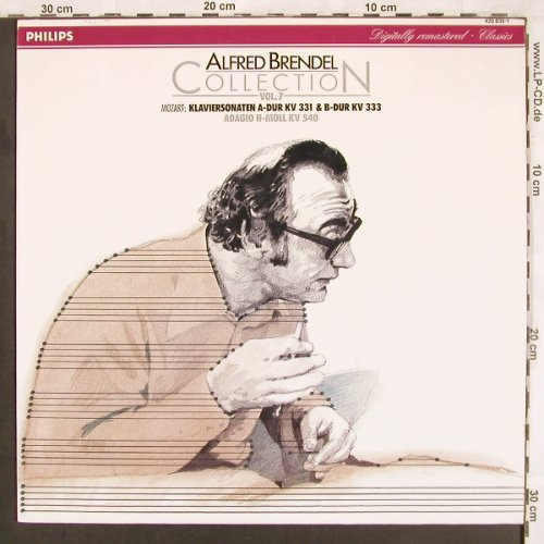 Brendel,Alfred: Collection 7,Mozart ,KV331,333,540, Philips(420 839-1), D, Ri,  - LP - L7250 - 6,00 Euro
