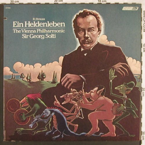 Strauss,Richard: Ein Heldenleben, London(CS 7083), UK, co, 1979 - LP - L7280 - 7,50 Euro