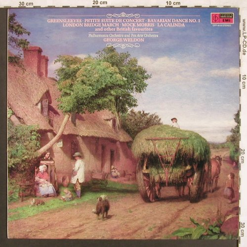 V.A.Greensleeves: Petite Suite de Concert, Classic for Pleasure(CFP 4510), UK, 1970 - LP - L7326 - 6,00 Euro